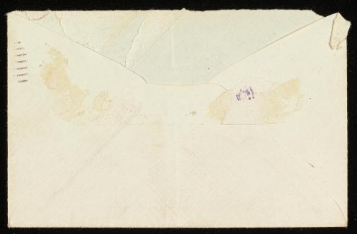 envelope verso